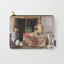 Afghan Tea Shop Carry-All Pouch