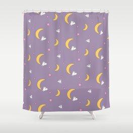 Usagi Tsukino Sheet Duvet - Sailor Moon Bunnies Shower Curtain