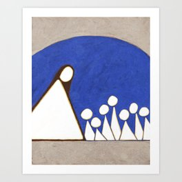 I Have a Mother There Art Print