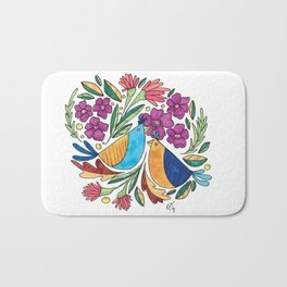 Birds & flore Bath Mat