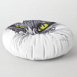 Intense Cat Floor Pillow