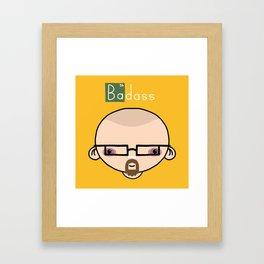 Breaking Badass Framed Art Print