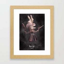 Awki Framed Art Print