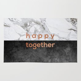 Happy Together Copper Rug