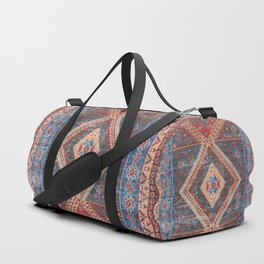 (N16) Boho Moroccan Oriental Artwork for Rustic and Farmhouse Styles. Duffle Bag