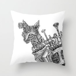 plug-in Throw Pillow
