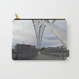 Pedestrian Bridge Crossing into Denver Highlands Carry-All Pouch