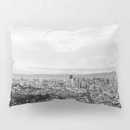 View of Downtown San Francisco from Twin Peaks Pillow Sham