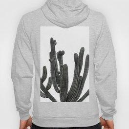 Black and White Cactus Hoody