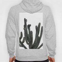 Black and White Cactus Hoody