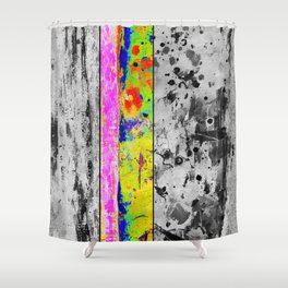 Break in Reality. Shower Curtain