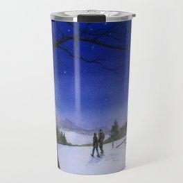 Snowshoeing  Travel Mug
