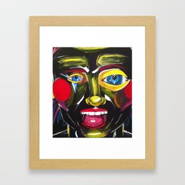 Ecstasy Nightmare Framed Art Print