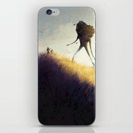 The Earth Giants iPhone Skin