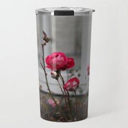 Three Roses Travel Mug
