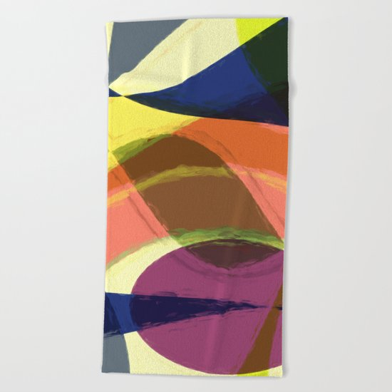 Abstract #465 Beach Towel