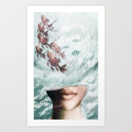 Out Of My Mind Art Print