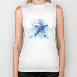 Starfish Waters I Biker Tank