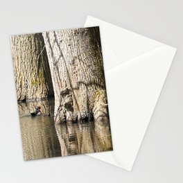 Floating Trees Stationery Cards