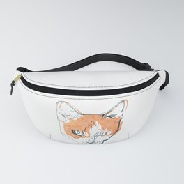 Kitten with a Soul Patch Fanny Pack