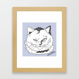 Kittykitty2 Framed Art Print
