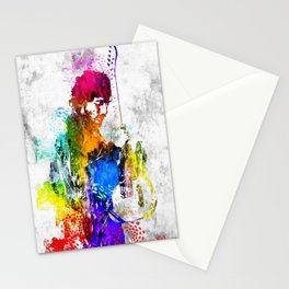 The Boss Bruce S. Grunge Stationery Cards