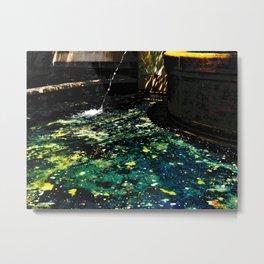 Andromeda Pool Metal Print