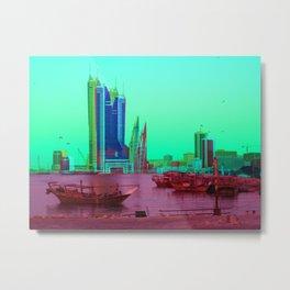 BFH, bahrain Metal Print