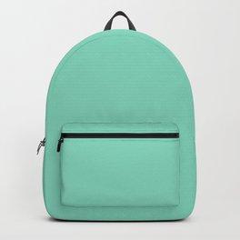 Pearl Aqua - solid color Backpack