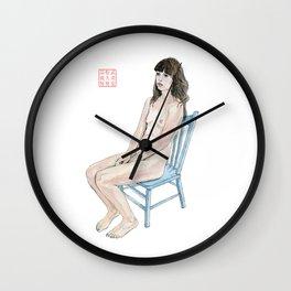 The Blue Chair Wall Clock