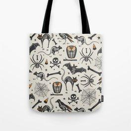 Halloween X-Ray Tote Bag