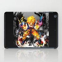 goku iPad Cases featuring Goku by ururuty