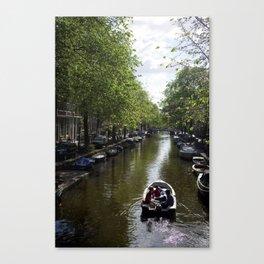 Canals | Amsterdam, NL Canvas Print