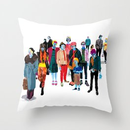 Pandilla Throw Pillow