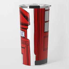 Telephone Booth Travel Mug