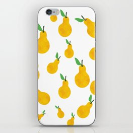 juicy pear towel, decorative panel clock tray furniture mug, Cup bag notebook cushion backpack phone iPhone Skin