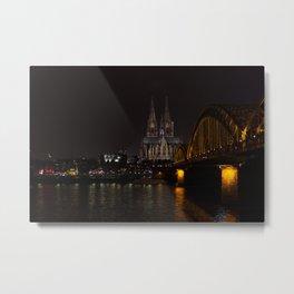 Cologne Metal Print