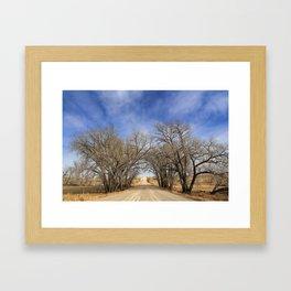 Tree Archway Framed Art Print