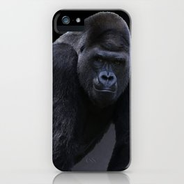 Strong Male Gorilla iPhone Case