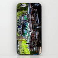 truck iPhone & iPod Skins featuring Truck by Rafael Andres Badell Grau