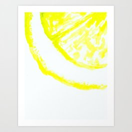 easy peasy lemon squeezy Art Print
