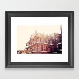 NOLA Sunlight Framed Art Print
