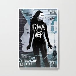 Irma Vep alternative movie poster Metal Print