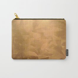 Brushed Copper Metallic Paint - What Color Goes With Copper - Corbin Henry Carry-All Pouch
