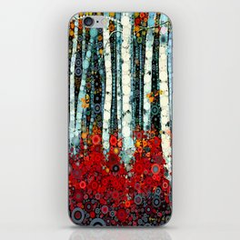 :: Begonia Birch :: iPhone Skin