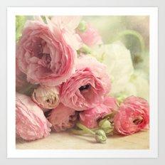 the first bouquet Art Print