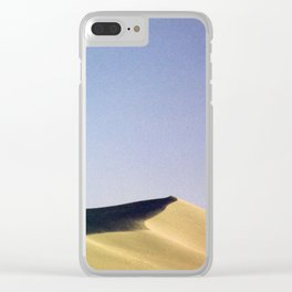 grain loss Clear iPhone Case