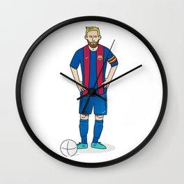 Lionel Messi Wall Clock