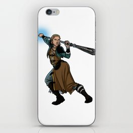 Strong female pose - Anders iPhone Skin
