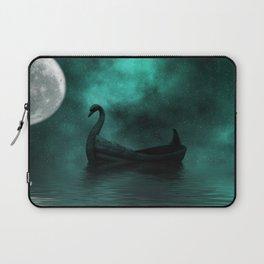 Solar Swan Laptop Sleeve